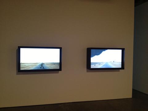 John Gerrard @ Simon Preston Gallery