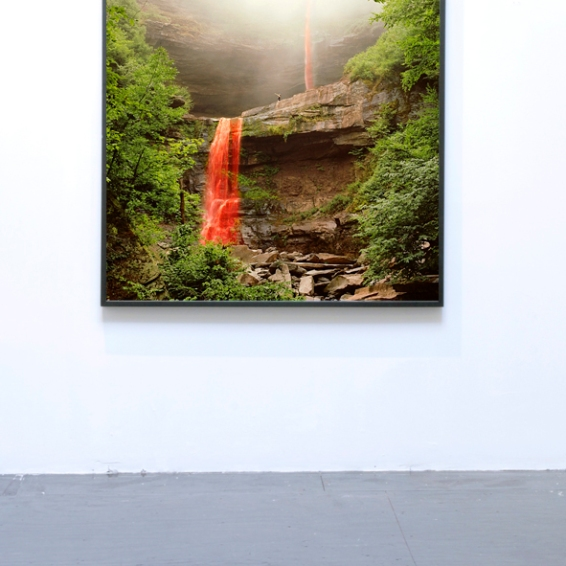 Nadja Verena Marcin The Last Mohican, C-Print, New York 2012, 51'x63''. © Nadja Verena Marcin & 532 Gallery Thomas Jaeckel