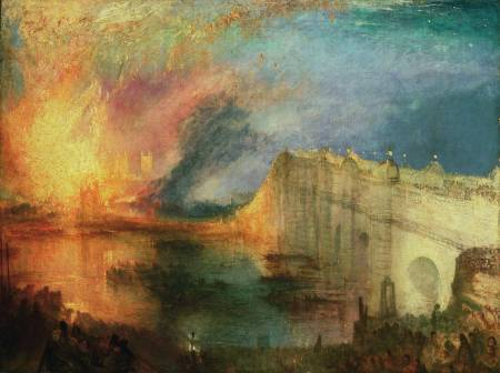 W. Turner, The Burning of the Houses of Lords and Commons