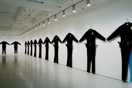Chris Burden, LAPD Uniforms, 1993, photo FabricWorkshop