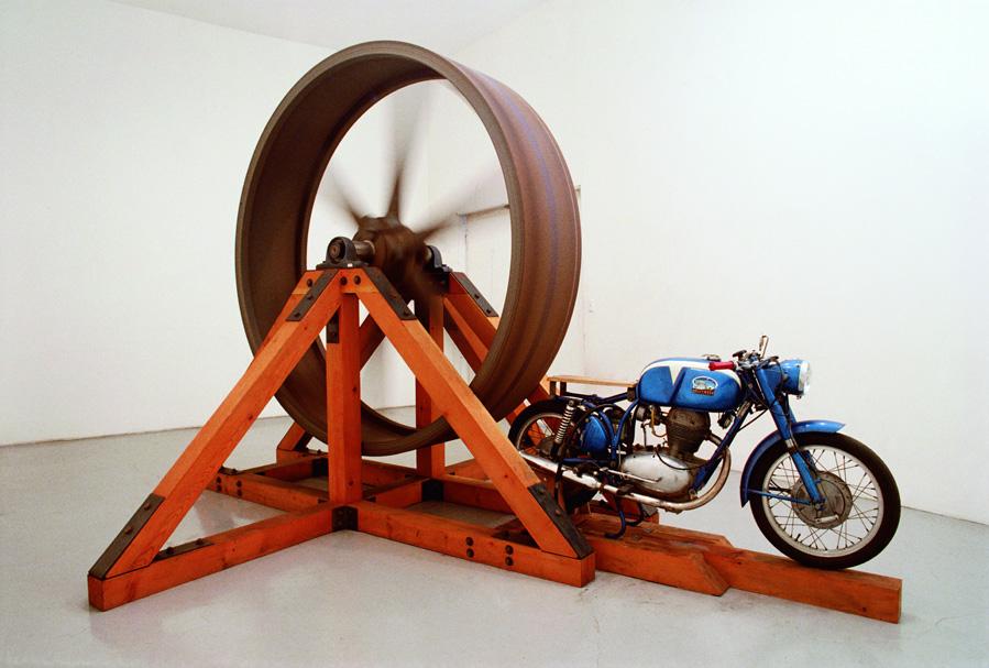 Chris Burden, The Big Wheel, 1979