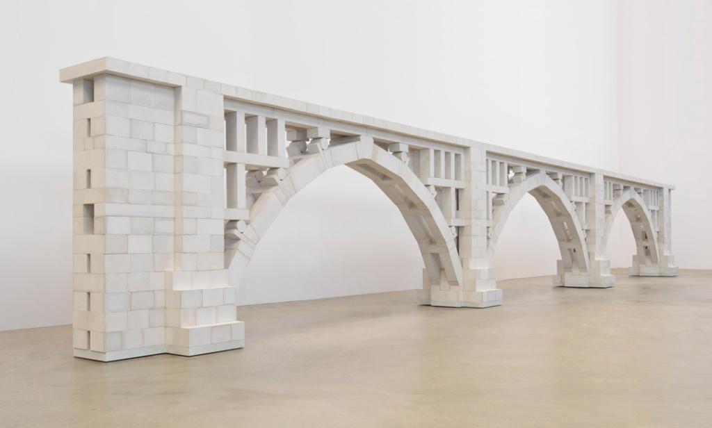 Three Arch Dry Stack Bridge, 1-4 Scale, 2013 photo-B.Forr_