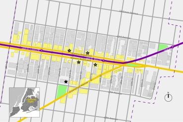 Sunnyside map