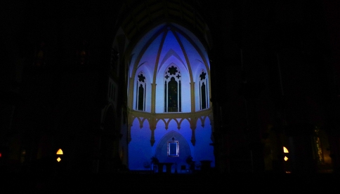 Cathedral Shrine of the Virgin of Guadaloupe, Projection