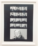 Lenora de Barros, Hommage to George Segal, 1975/2014, documentation of Photoperfromance