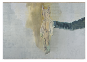Marc Antoine Fehr, Midas, 2009, oil on canvas @ Peter Kilchmann Gallery