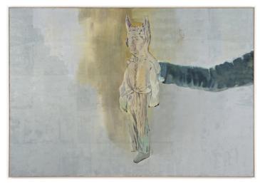 Marc Antoine Fehr, Midas, 2009, oil on canvas @ Peter Kilchmann Gallery