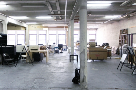 Raw incubator space at 231 Bowery courtesy SO-IL