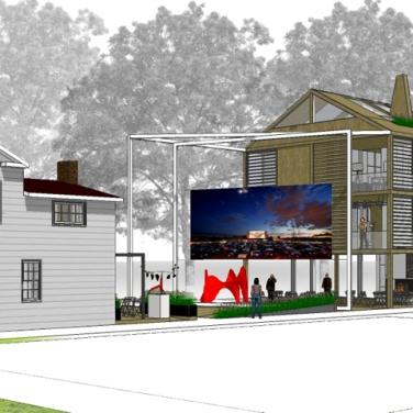 Project for Prattsville Art Center. Photo © Arch. Andrea Salvini