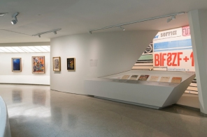 Italian Futurism Installation view @ Guggenheim New York