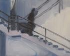 Rudy Cremonini, Come down, 2014, Oil on canvas, 20 x 16 inch