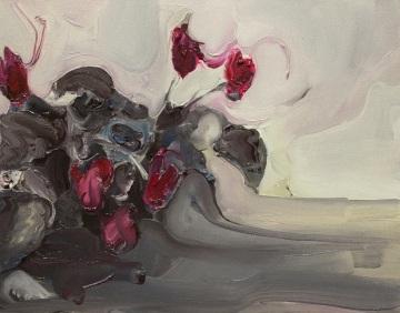 Rudy Cremonini, Il primo annuncio, 2014, Oil on canvas, 11 x 13 inch
