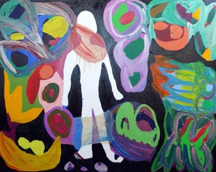 Maria Lynch Doll 1 2013 Oil on canvas