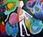 Maria Lynch Doll 3 2014 Oil on Canvas
