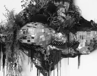 Lina Puerta 'Alto' 2014 mixed media