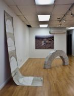 Exhibition view 'I Walk Deserts Full Of Matter'