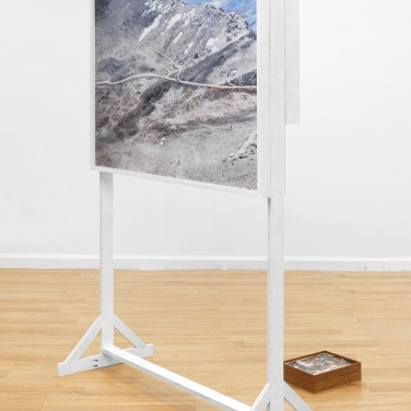 Myeongsoo KIm, 'Expedition Chacaltaya (Part I)' 2015 Installation view at ROOMSERVICE