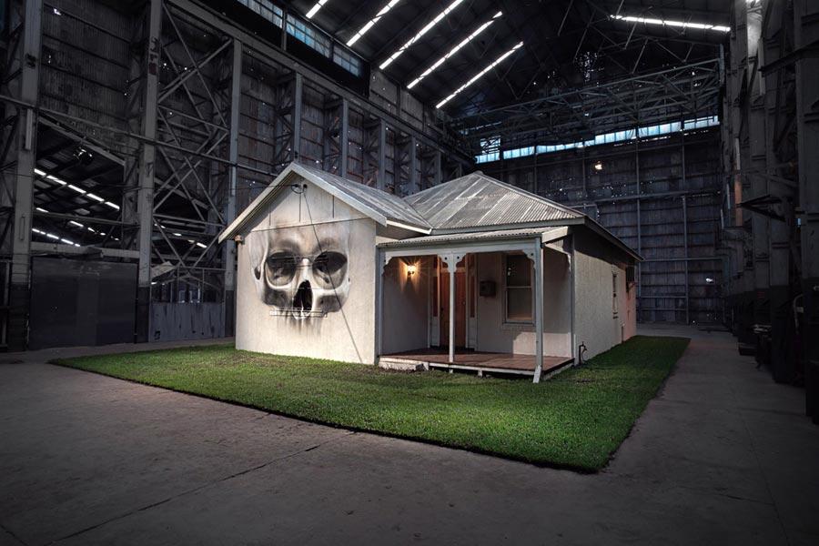 'Home' - Installation Exhibtion Turbine Hall, Cockatoo Island - Sydney, Australia