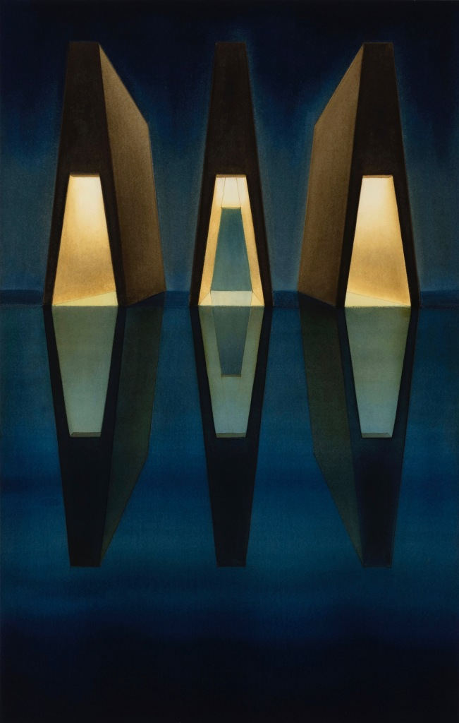 Lauretta Vinciarelli, Night Nine (1996). Image courtesy TOTAH Gallery
