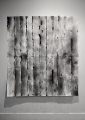 Die prematurely, Coal dusts from China, Silk, Graphite, Charcoal 53x59