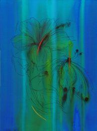 Sasha Vinci_THE MAGNIFICENT FLIGHT n.2_2019_Inchiostri naturali-sintetici e pastelli su carta cotone_76x56cm