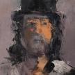 "Judith Tummino, ""Portrait of Mark"" Oil on canvas, 16 x 12"