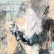 "Kristi Visser, ""Brewing"" acrylic on canvas, 12x12"