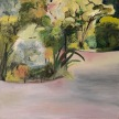 "Mariangela Fremura, ""Tompkins Square Park"" Oil on canvas, 12 x 12"