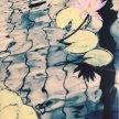 "Sylvia Bandyke, ""Water Lily"" Photograph on canvas, 19 x 14"